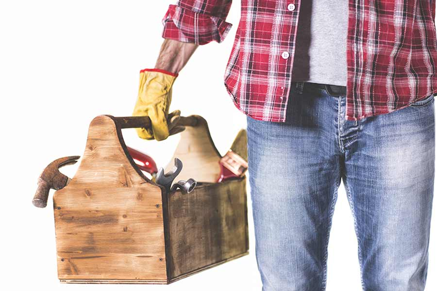 Handwerker - Professionelle Hilfe von Rohreinigung Weber